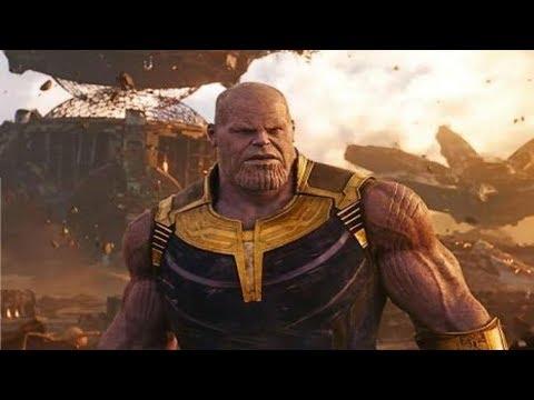 Avengers:Infinity War Ending scene -Thanos snaps his fingers