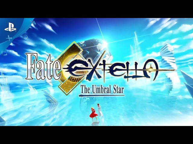 Fate/EXTELLA: The Umbral Star - Announcement Trailer | PS4, PS Vita
