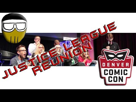 DCC 2017 - Justice League Voice Cast Reunion