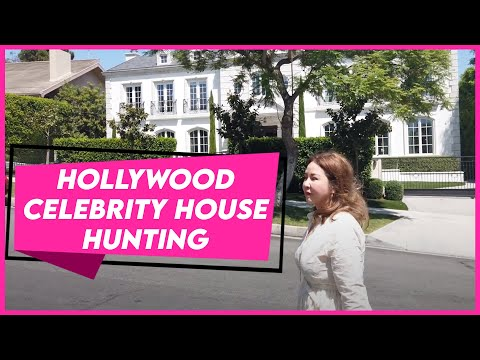 CELEBRITY HOUSE HUNTING IN LA! | Small Laude