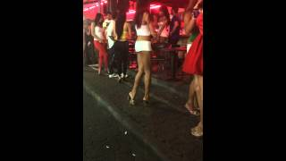 Ladyboys on Walking Street - Kathoey, Pattaya Thailand | Video