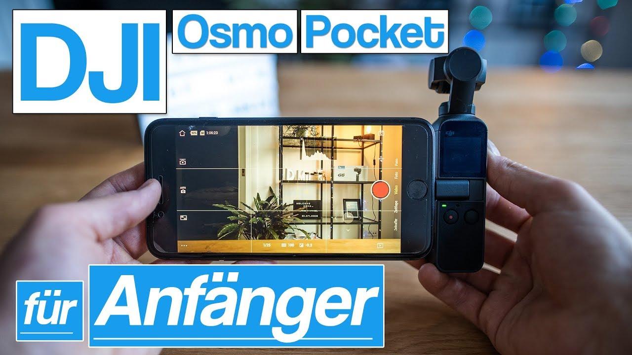 DJI Osmo Pocket für Anfänger | erste Schritte einfach erklärt | Foto | Video | Zeitraffer