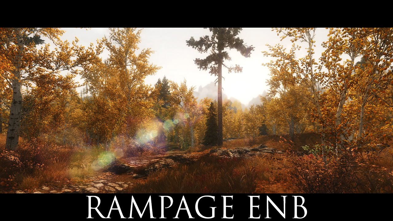 Rampage ENB at Skyrim Nexus - mods and community