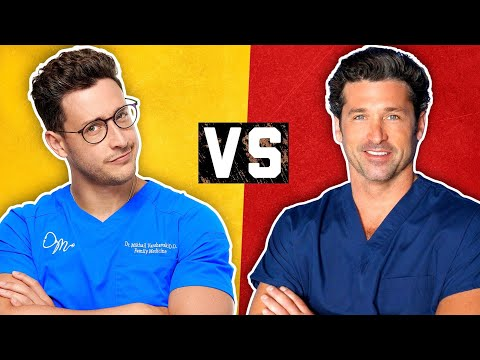 Real Doctor vs TV Doctor | Medical Drama Myths | Doctor Mike