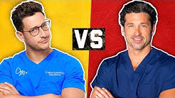 Real Doctor vs TV Doctor | Medical Drama Myths | Doctor Mike