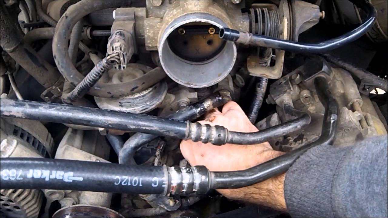 Diy Thermostat Replacement Ford 4 2l V6 F150 2002 Youtube