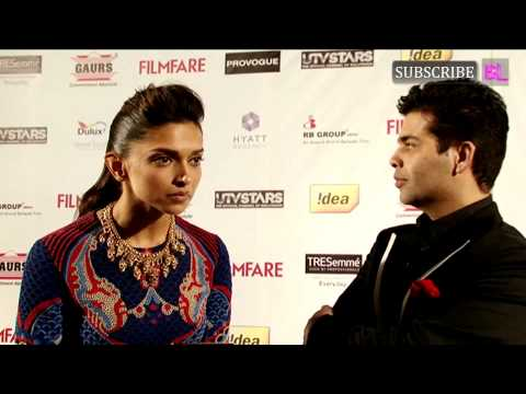 Video | Karan Johar & Deepika Padukone | Pre-Awards Party - 59th Idea Filmfare Awards 2013 Travel Video