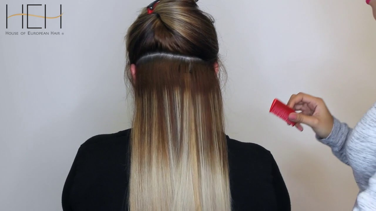Clip In Hair Extensions By House Of European Hair Youtube