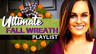 Williams-Sonoma Home Knock Off: DIY Pumpkin Fall Wreath