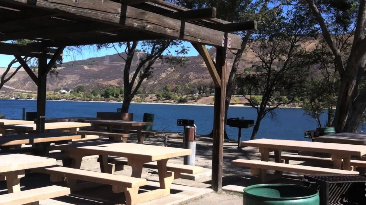 Castaic lake los angeles recreational park youtube for Lake piru fishing report