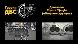 Теория ДВС: Двигатель Toyota 2jz-gte (обзор конструкции)