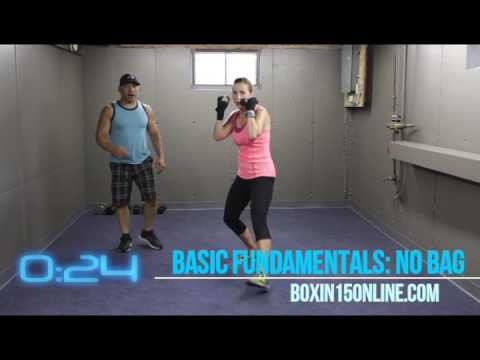 best home boxing workout for women l learn punching