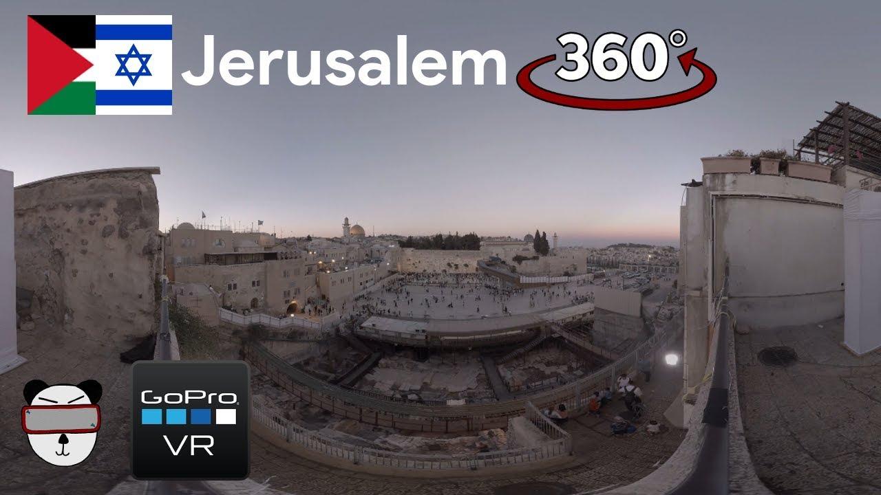 9cf542193bc 🌍 360° GoPro Omni VR  Western Wall At Shabbat