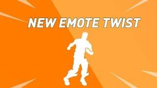 FORTNITE NEW TWIST EMOTE WITH STAGE 2 DRIFT