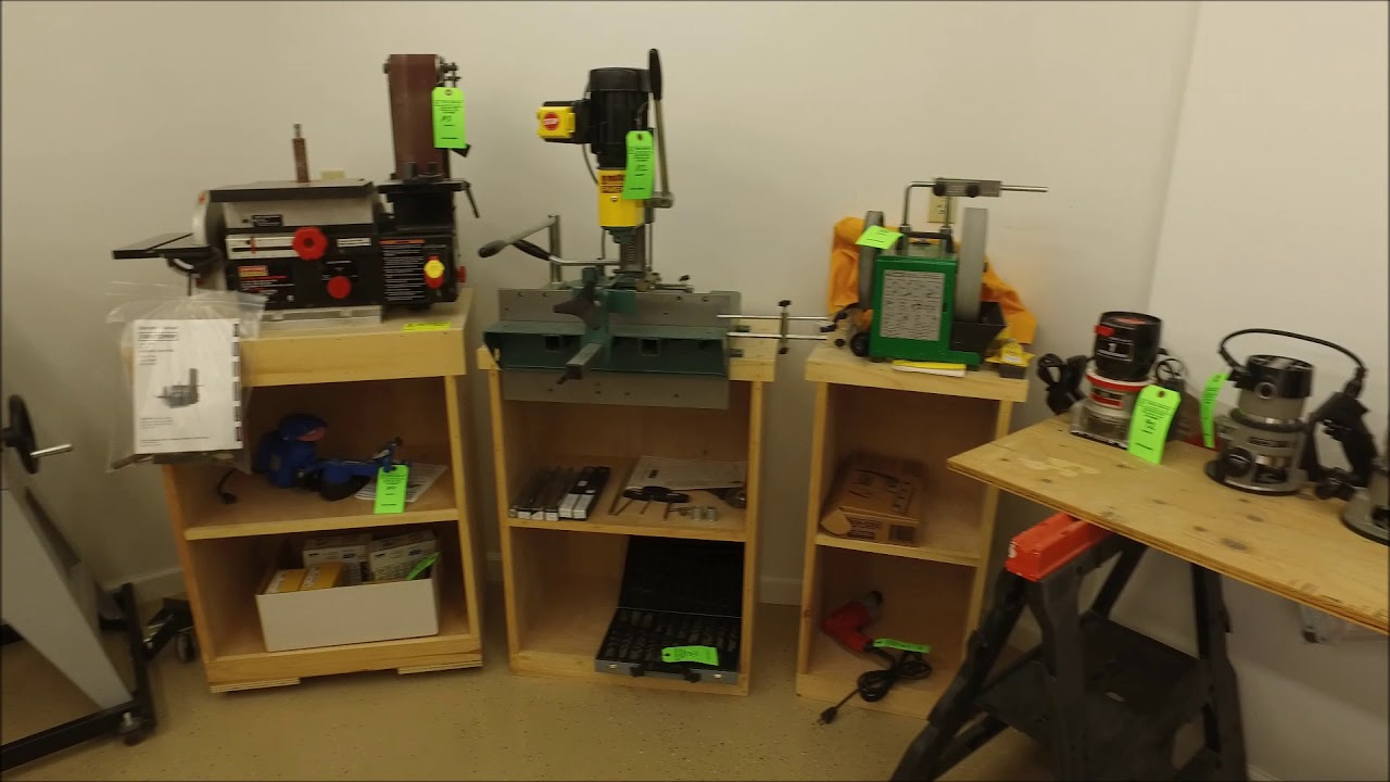 Woodworking Tools Equipment Auction
