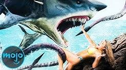 TOP 10 der LÄCHERLICHSTEN HAI-Filme