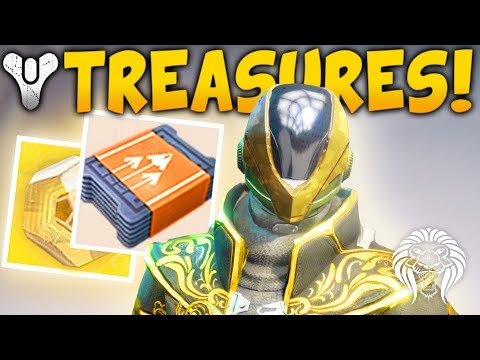 Destiny 2: SECRET TREASURES & TICKETS! Faction Consumables, Trials & Exotic Gated Quests?