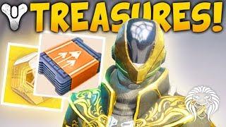 Destiny 2: secret treasures & tickets! faction consumables, trials & exotic gated quests?