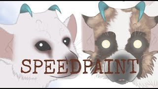 SPEEDPAINT - My dogs Trico version (The Last Guardian)