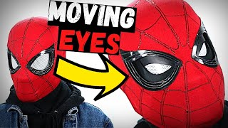 FUNCTIONAL Spider-Man Mask With MECHANICAL LENSES! DIY No Electronics