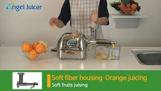엔젤녹즙기 과일망, 오렌지 착즙 영상