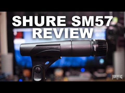 Shure SM57 Dynamic Mic Review / Test