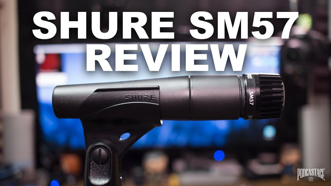 shure sm57 dynamic mic review test youtube. Black Bedroom Furniture Sets. Home Design Ideas