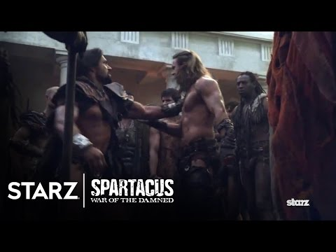 Spartacus: War of the Damned | Episode 4 Clip: Gannicus vs. Crixus | STARZ