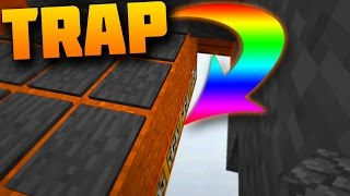 TRAPPING PEOPLE in SKYWARS!! (MINECRAFT HYPIXEL TROLLING)