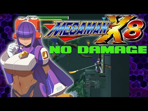 mega man x8 no damage (layer): bamboo pandamonium