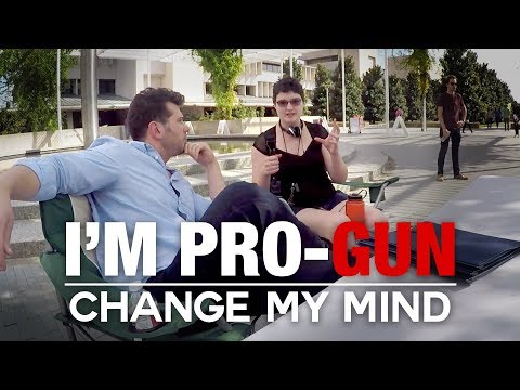 REAL CONVERSATIONS: I'm Pro-Gun | Change My Mind