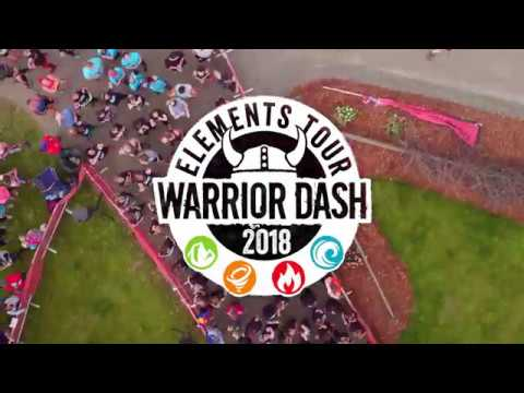 Warrior Dash Elements Tour 2018