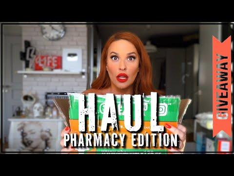 HAUL pharmacy edition | GIVEAWAY | SissyChristidou