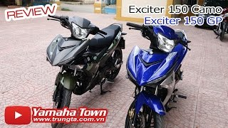 Exciter 150 Camo vs Exciter 150 GP - Ai là dân chơi? ✔