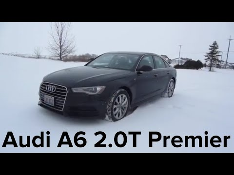 2018 Audi A6 2.0T Quattro Premier | Full Rental Car Review and Test Drive