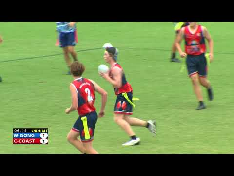 2018 NSW Oztag Junior State Cup: U17s Boys Final - Central Coast V Wollongong