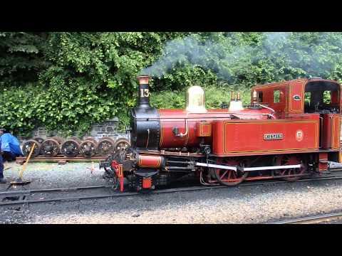 Isle of Man Railway Steam Locomotive Coupling マン島蒸気鉄道SL連結