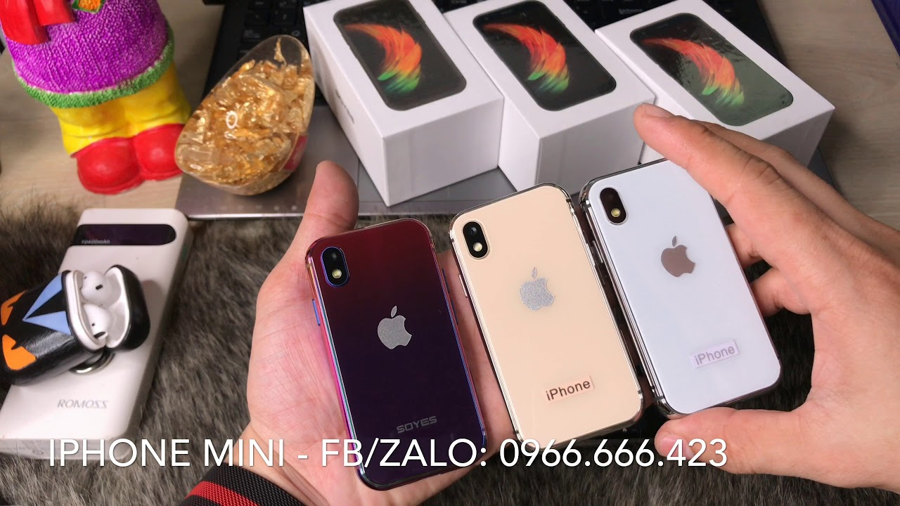 Review IPhone XS Mini - Điện thoại mini Soyes XS (4K)