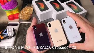 Review IPhone XS Mini - Điện thoại mini Soyes XS (4K)
