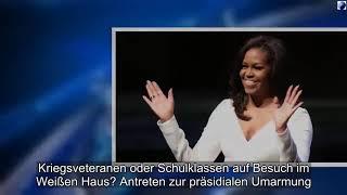 Michelle Obama auf Kuschelkurs: Umarme mich, First Lady!