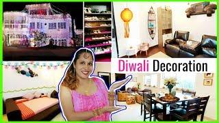 My NEW House DIWALI Decoration | #HomeTour #GarnierMasks #Vlog #DIML #ShrutiArjunAnand
