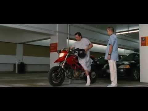 Jim Carrey In YES MAN (2008): The Ducati Scene - YouTube