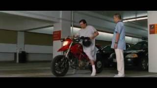 Jim Carrey In YES MAN (2008): The Ducati Scene