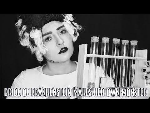 Bride Of Frankenstein Makes Her Own Monster [ASMR] Binaural Sounds