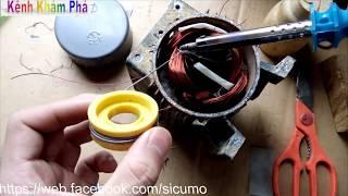cách quấn, sửa chữa động cơ điện cơ bản và đầy đủ nhất