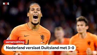 Samenvatting Nederland - Duitsland 3-0 | Nations League