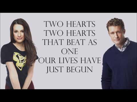Glee 1x10 - Endless Love [with Lyrics]