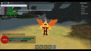 Roblox Arc of the Element:ep, 1: The Dragon