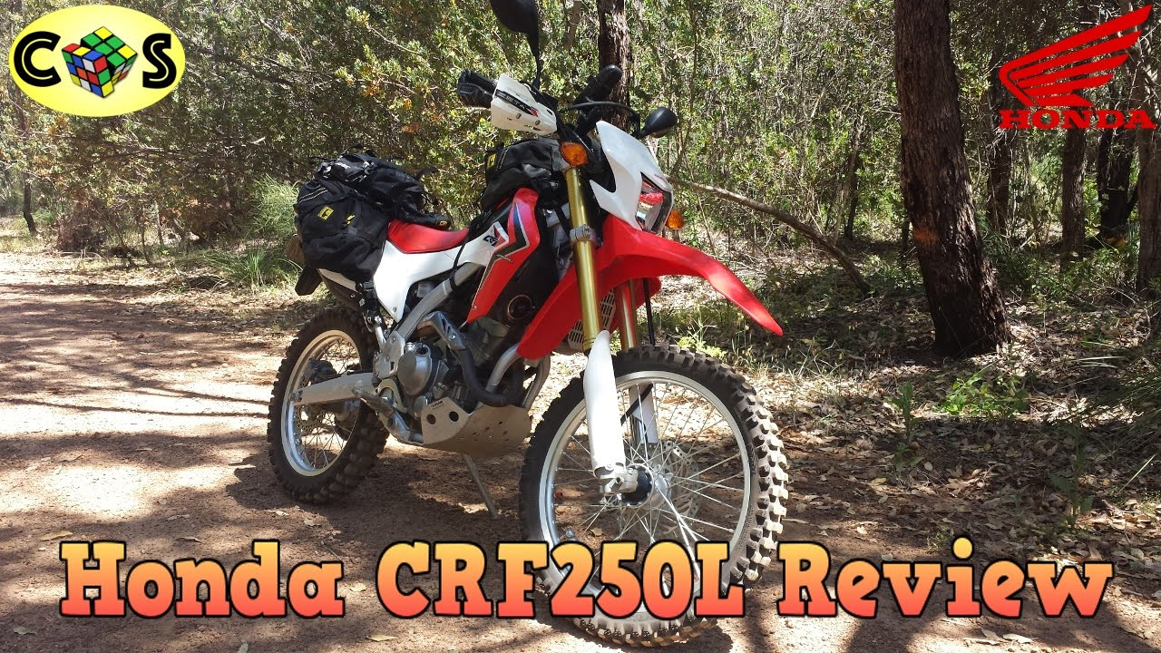 Acerbis Tank for CRF250L and Kenda K270 on Myra Canyon Ride - YouTube