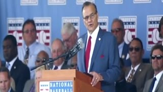Joe Torre's Hall of Fame induction